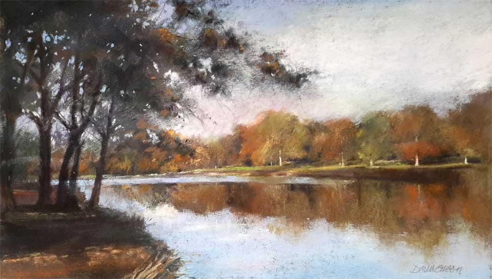 Autumn at Blickling – Pastel