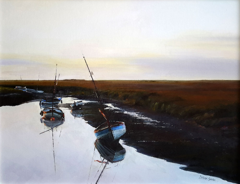 End of the Day, Blakeney – Oil