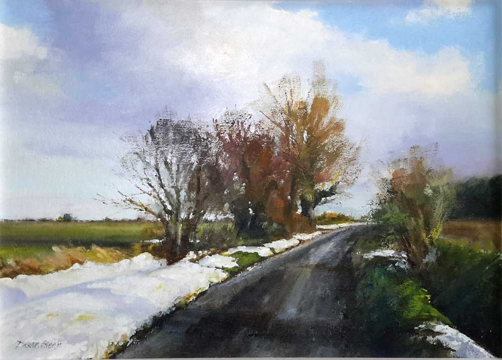 Last of the Snow – Oil