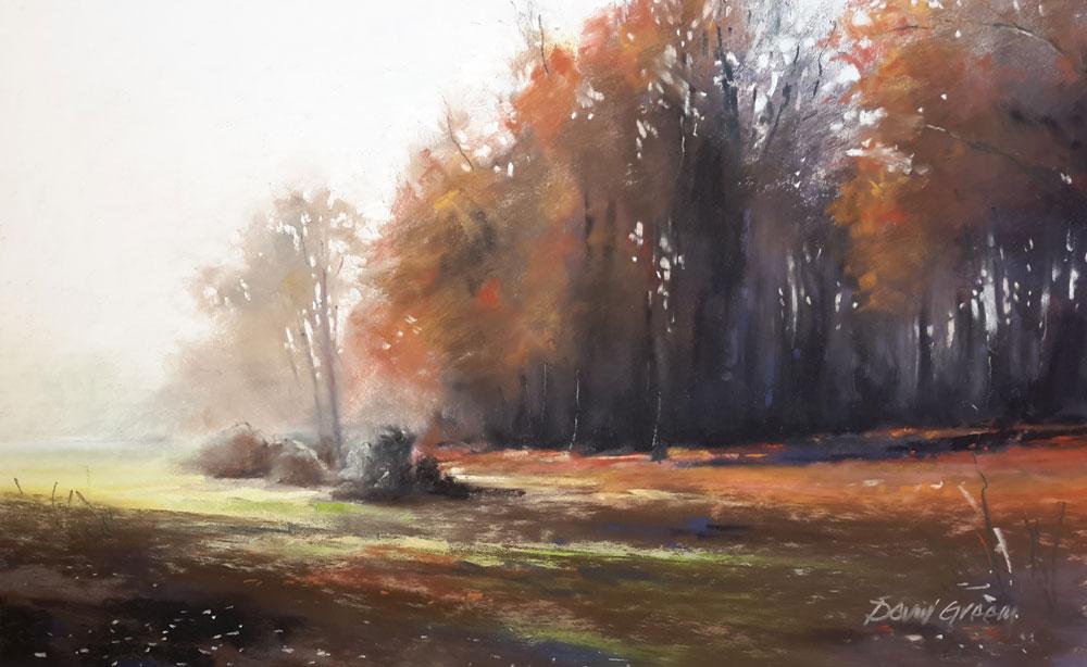 Mousehold Heath in Autumn – Pastel