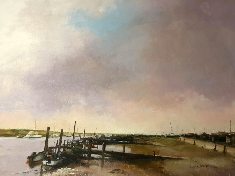Southwold Harbour – Oil