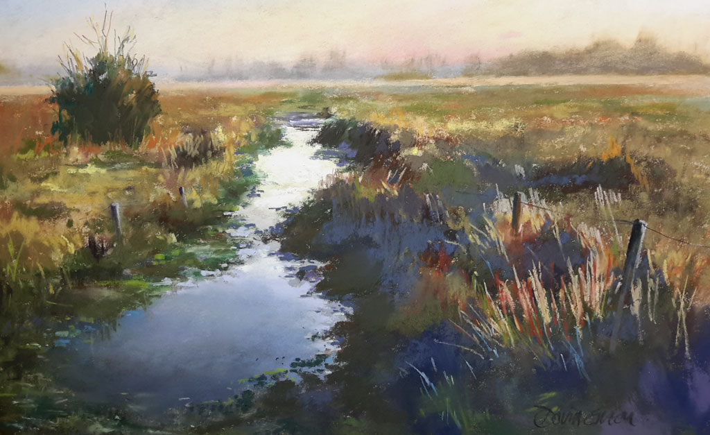 Early One Morning – Pastel