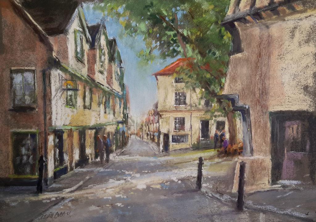 Elm Hill – Pastel