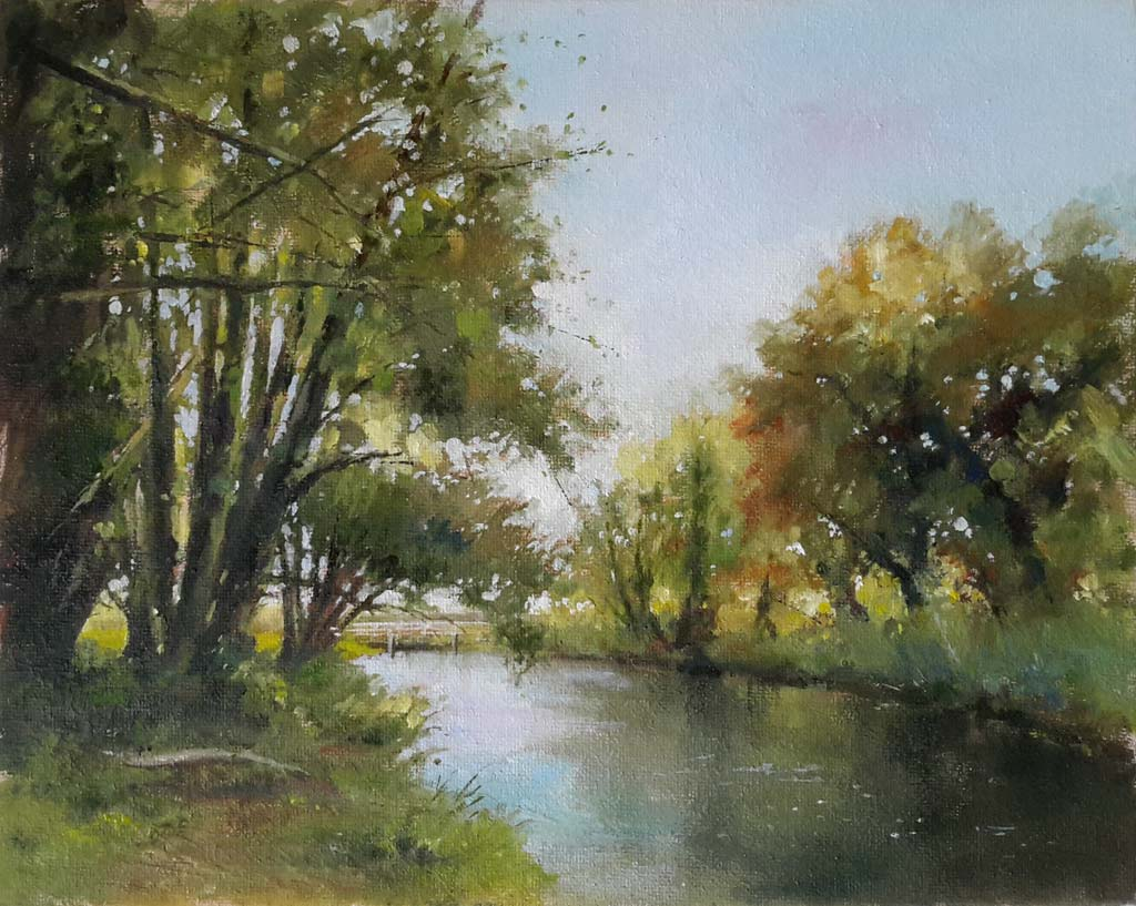 Over the River – Pastel