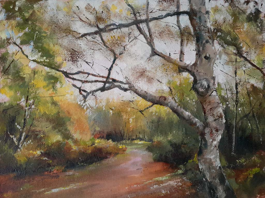 Woodland Walk – Pastel